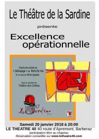 Affiche le 40 excellence operationnelle