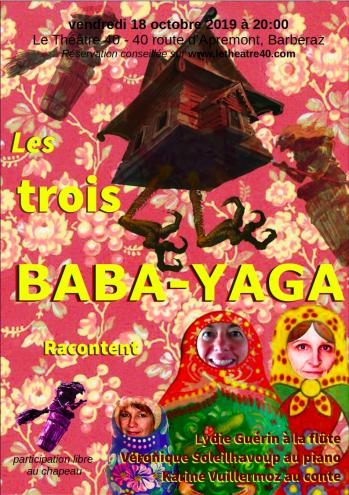 Affiche 3 baba yaga au 40