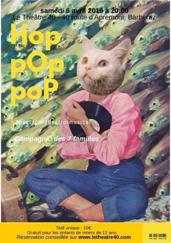 Affiche hop pop pop au 42