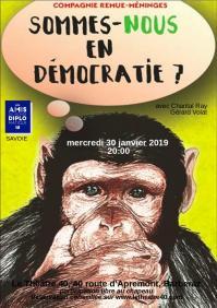 Affiche le 40 democratie 1