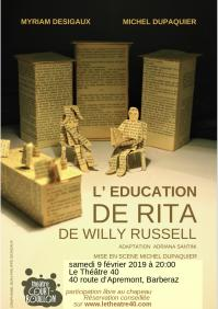 Affiche le 40 l education de rita 1