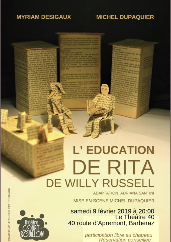 Affiche le 40 l education de rita