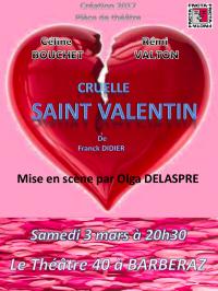 Cruelle saint valentin le 40 affiche